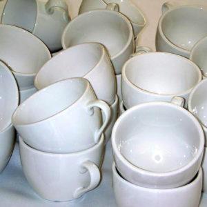 ספל קפה לבן